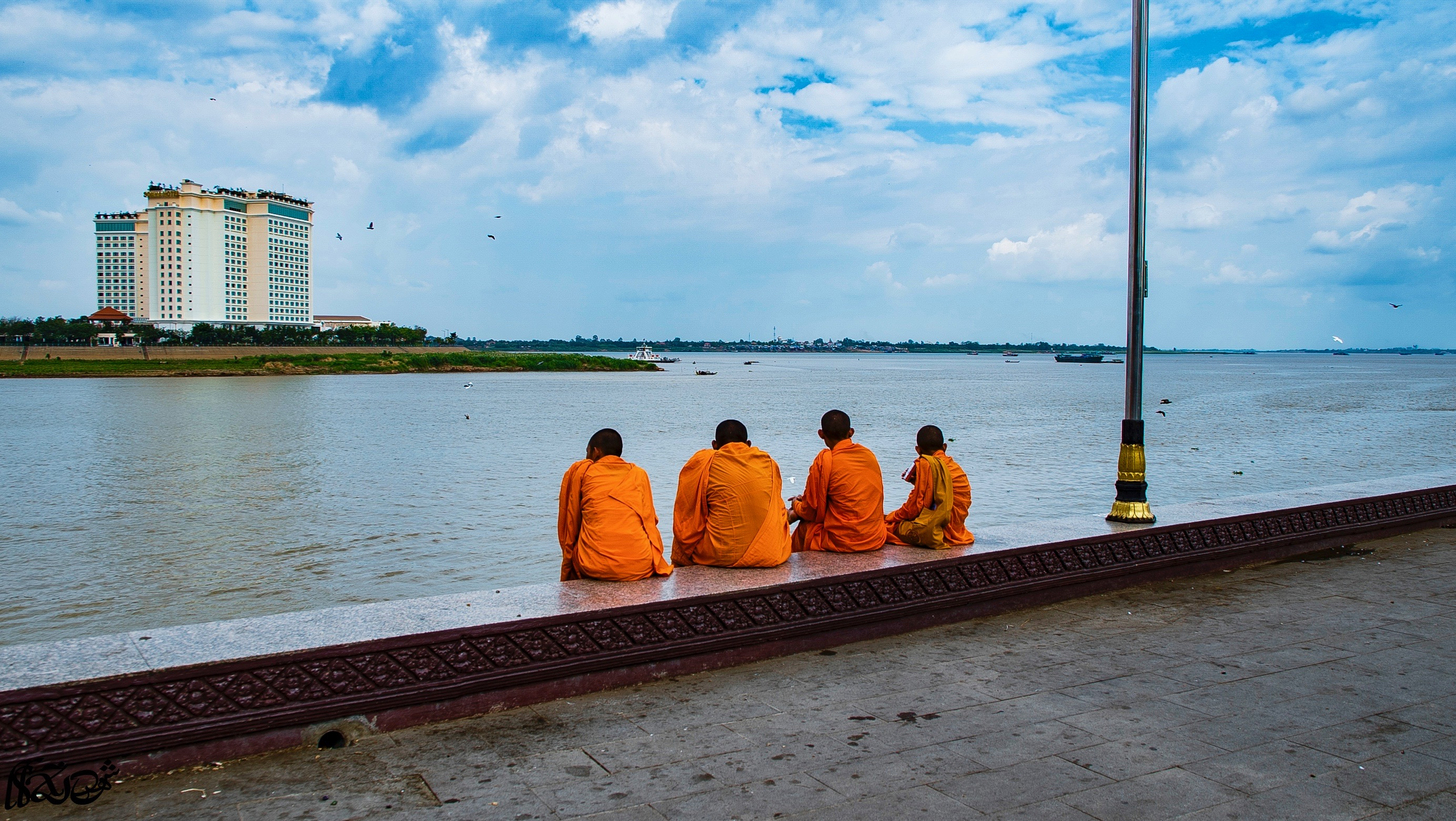 Monks Just being Monks